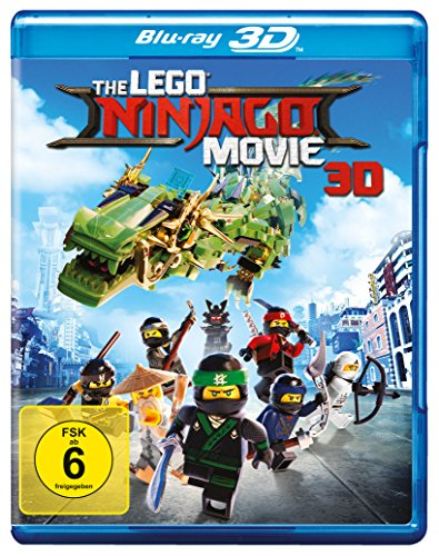 The Lego Ninjago Movie en version Blu-Ray 3D