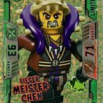 Lego Ninjago Serie 2 Fieser Meister Chen le 15 édition limitée Trading Card Game neuf