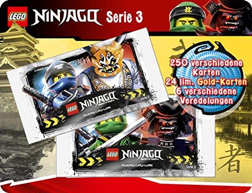 Lego Ninjago Série III 50 Booster : 250 cartes