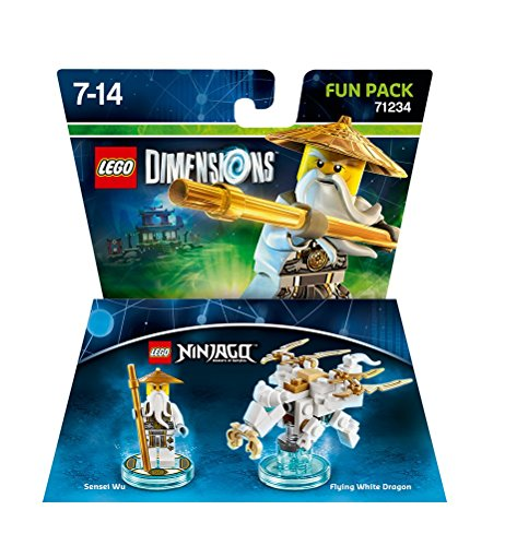 Figurine 'Lego Ninjago' Pack Héros – Sensei Wu : Fun Pack