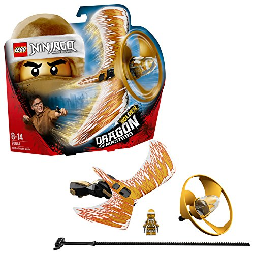 Le maître du dragon d'or – 70644 -LEGO Ninjago – Jeu de Construction