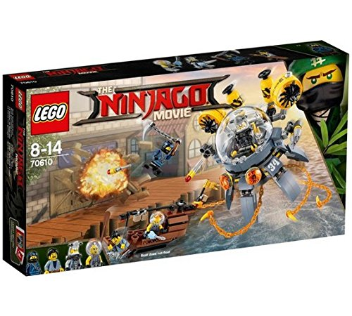Le sous-marin Méduse – 70610 –  Lego Ninjago