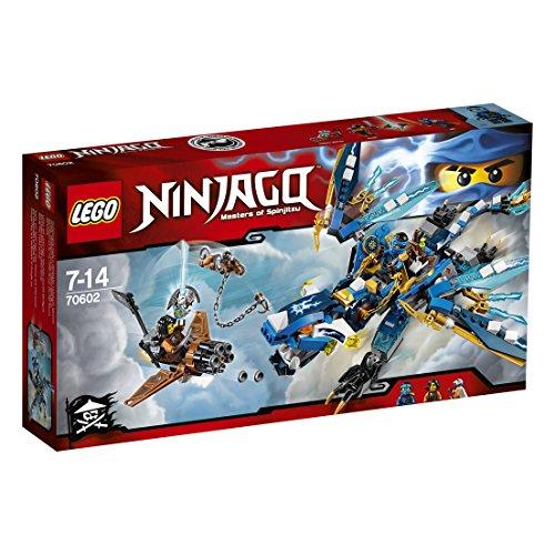 Le dragon élémentaire de Jay – 70602 – LEGO NINJAGO – Jeu de Construction