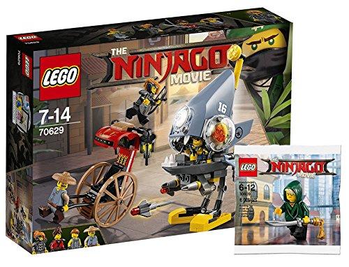 Piranha Attaque + Lego Ninjago 30609Lloyd Mini Figurine  –The Lego Ninjago Movie 70629