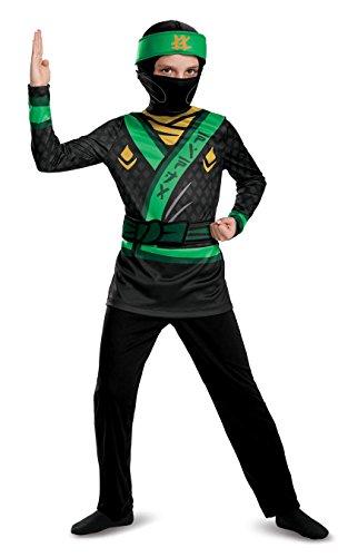 LEGO Ninjago costume de Lloyd, 7–8Ans