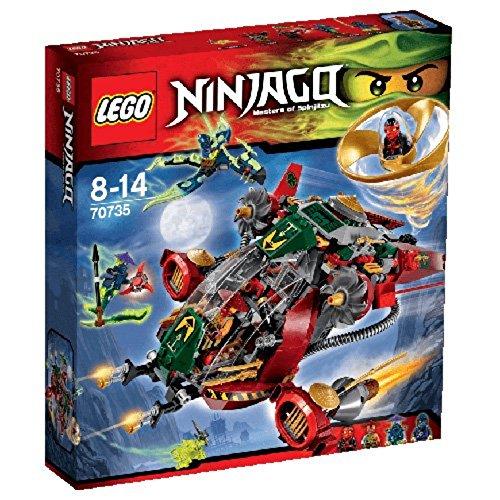 Le Jet Hybride de Rônin- 70735 – LEGO Ninjago – Jeu de Construction –