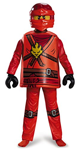 LEGO Ninjago Costume de Kai  Petit, 4–6Ans
