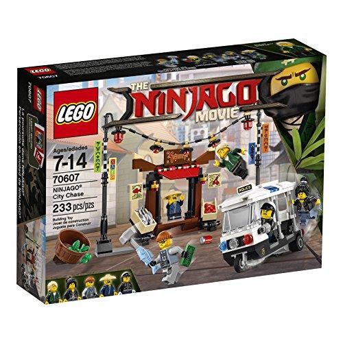 La Poursuite dans la Ville – 70607 – Lego Ninjago Movie (233 Pièces)