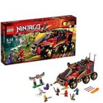 LEGO® Ninjago - Playthèmes - 70750 - Jeu De Construction - La Base Mobile Des Ninja