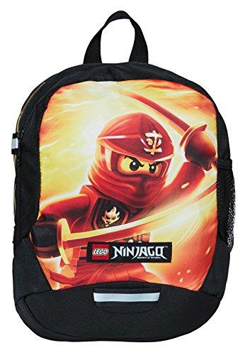 Lego Vline Ninjago Kai Sac à Dos Enfants, 33 cm, 9 liters, Rouge (Rojo)