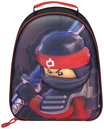 Sac à lunch scolaire Lego Ninjago | Lego Movie 3D Sac Ninjago Kai | Cadeau parfait pour tous les petits amateurs de ninja