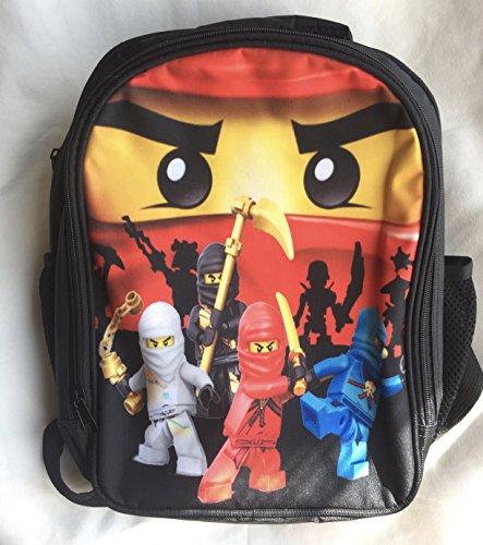 Sac à dos Ninjago  Kai, Lloyd, Zane et Jay Lego
