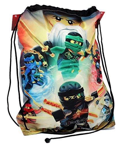 Sac de sport Lego Ninjago avec l'équipe des Ninjas