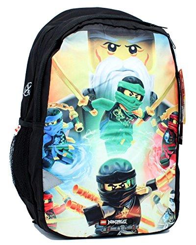 Sac à Dos Lego Ninjago Senseï Wu et l'équipe des Ninjas : 44,5 cm