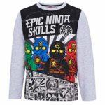 Lego Ninjago Tee-Shirt Manches Longues Garçon