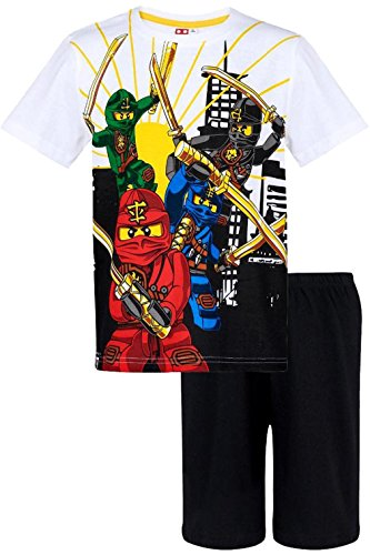 Lego Ninjago Ensemble de Pyjama – Garçon Rouge Rot Medium
