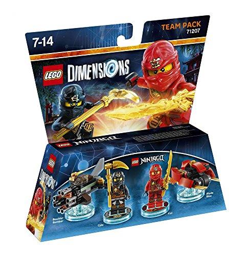Figurine 'Lego Dimensions' – Kai & Cole – Lego Ninjago