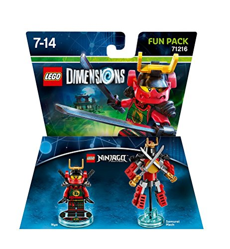 Figurine 'Lego Dimensions' – Nya – Lego Ninjago