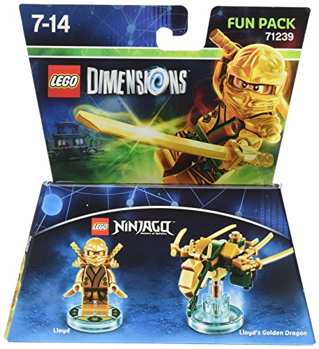Figurine 'Lego Ninjago' – Lloyd : Fun Pack