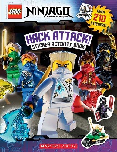 250 autocollants LEGO Ninjago (Hack Attack!)