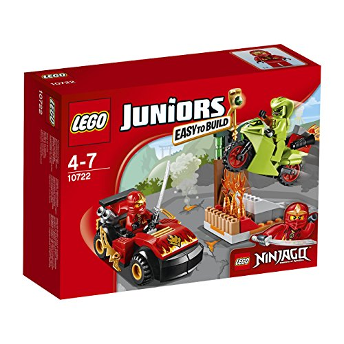 L'attaque du Serpent NINJAGO – 10722 – LEGO Juniors – Jeu de Construction –