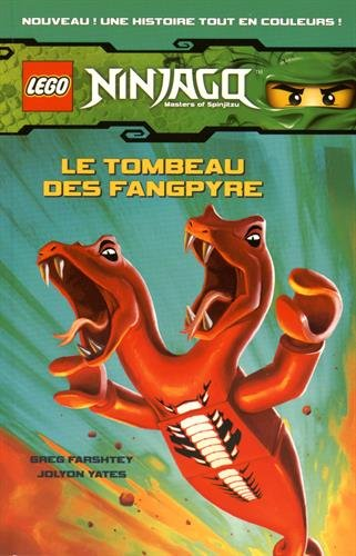 LEGO NINJAGO BD 2 LE TOMBEAU DES FANGPYRE