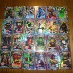 LEGO Ninjago 2 (Serie 2) Tous 24 Super Holo Cartes