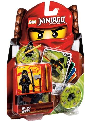LEGO Ninjago – 2112 – Jeu de Construction – Cole – Ninja Noir