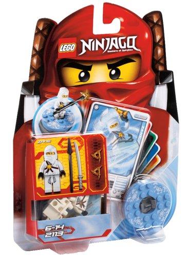 LEGO Ninjago – 2113 – Jeu de Construction – Zane – Ninja Blanc