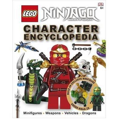 """Encyclopédie LEGO Ninjago """"Character Encyclopedia"""" en anglais"""