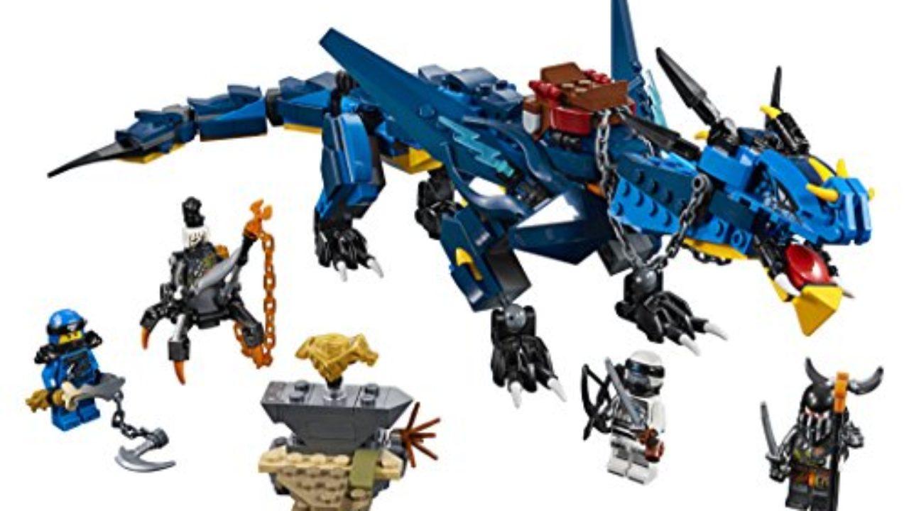 Le Lego Ninjago Stormbringer 70652 Compatible Dragon vNPymOn08w