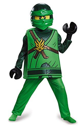 LEGO Costume Ninjago Lloyd taille Medium, âge 7–8Ans