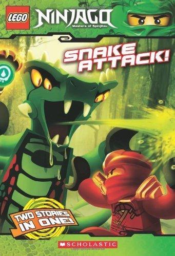 LEGO Ninjago: Snake Attack! (Livre n°5) en anglais