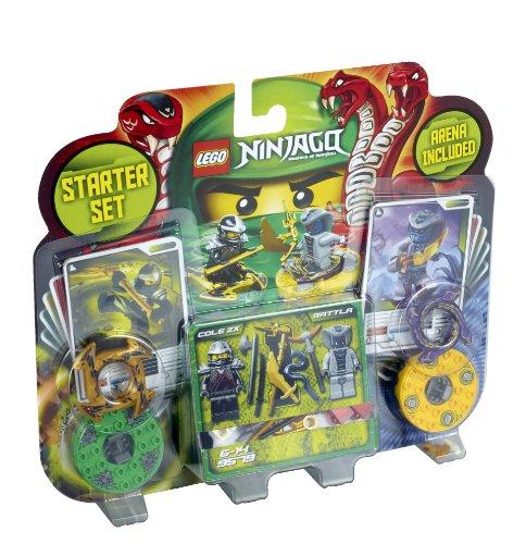 Tournoi d'Initiation entre Cole et Rattla- 9579 – LEGO Ninjago Toupies