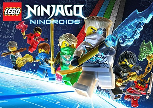 Lego Ninjago Nindroids Poster by Lego Ninjago Nindroids