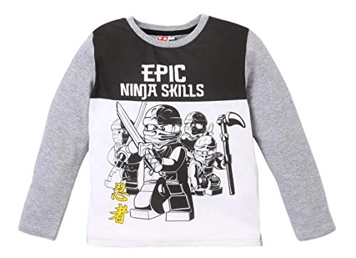 Lego Ninjago Pyjama, Gris/Blanc