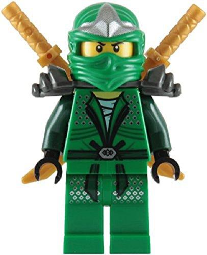 Lloyd ZX (Ninja Vert) avec 2 Sabres dorés – LEGO Ninjago Minifigure