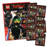 Ninjago Blue Ocean The Movie Lot DE 10 Paquets DE 50 Autocollants