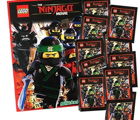 Lot de 10 Paquets de 50 autocollants Ninjago le film