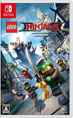 The LEGO NINJAGO Movie the Game NINTENDO SWITCH JAPANESE IMPORT REGION FREE