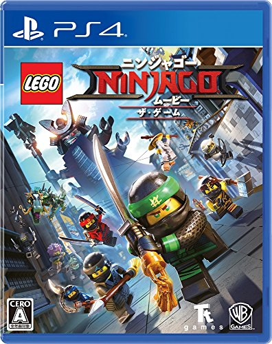 The LEGO NINJAGO Movie the Game SONY PS4 PLAYSTATION 4 JAPANESE Version