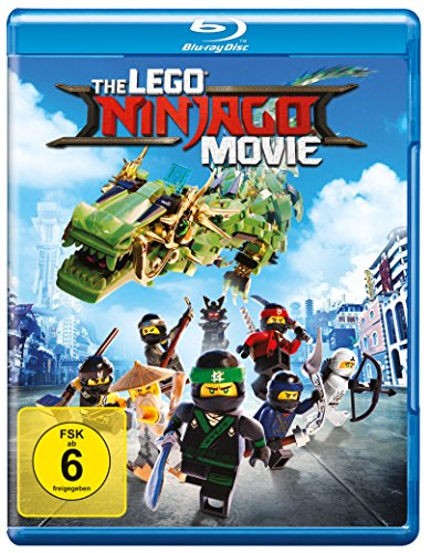 The Lego Ninjago Movie en Blu-Ray