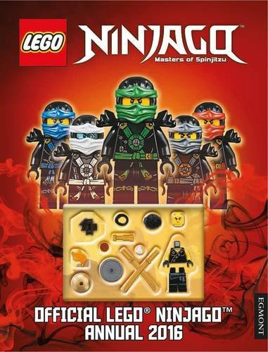 The Official LEGO Ninjago Annual 2016 by Egmont UK Ltd