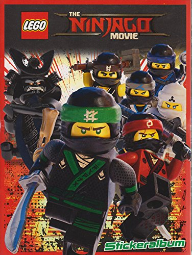 Album avec poster XXL et 222 autocollants Lego Ninjago
