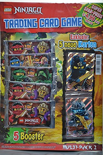 Lego Ninjago Trading cards Multipack cartes Boosters