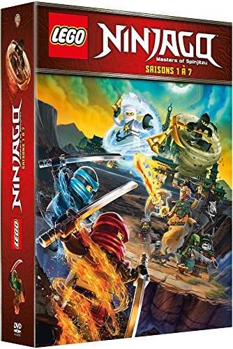 Lego Ninjago, Les Maîtres du Spinjitzu – La Série – Saisons 1 à 7 – Coffret DVD