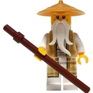 Wu 70751 (Minifigurine bronzé et costume en or) LEGO® Ninjago