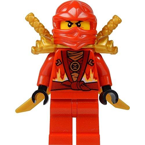 Kai Minifig (Red Ninja) avec deux épées en or :  Édition limitée – 2015