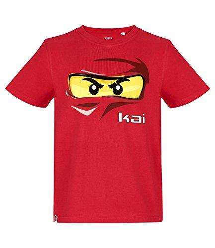 Lego Ninjago Garçon Tee-Shirt – Rouge