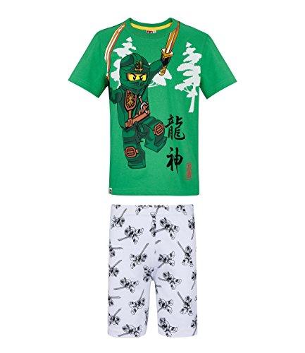 Lego Ninjago Garçon Pyjama Court – Vert